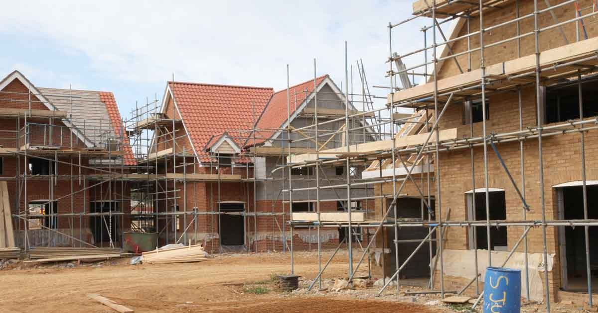 House building counting the government 39 s record full fact - Building a new home ...