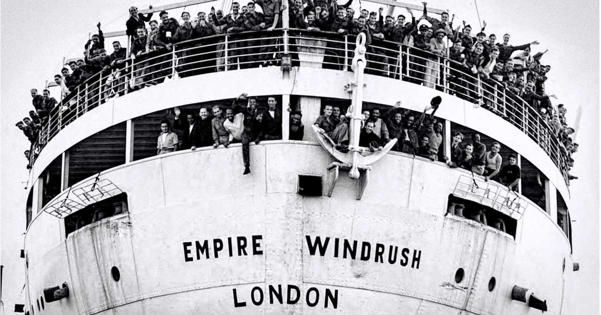 Image result for windrush generation clipart