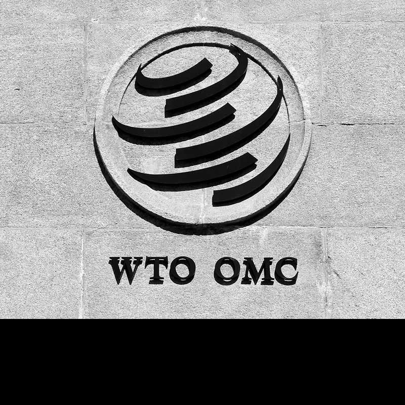 It's not correct that 98% of world trade is done via the WTO