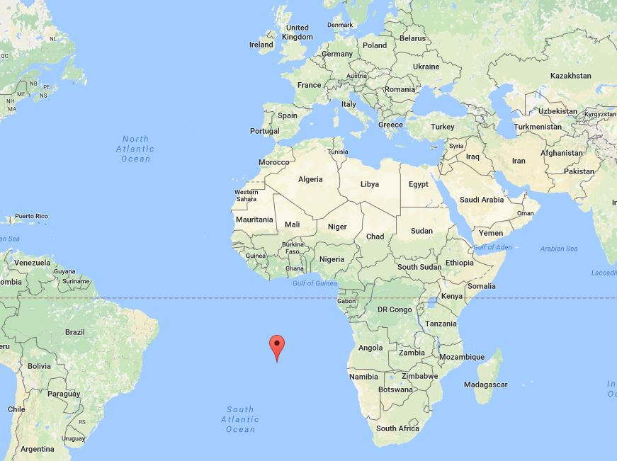St Helena On World Map.Uk Foreign Aid And An Airport That Never Took Off Full Fact