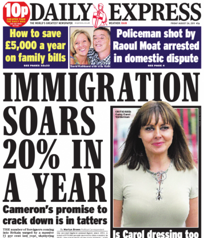 Tremendous Immigration Newspaper Headlines Confuse Latest Figures Full Fact Hairstyle Inspiration Daily Dogsangcom