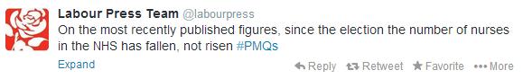 Labourpress on twitter claim