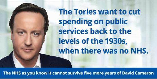 Labour campaign poster 1